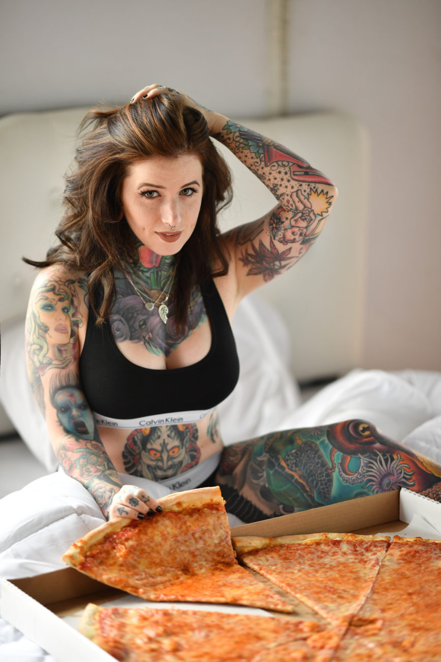 Boudoir Pizza Sexy Time