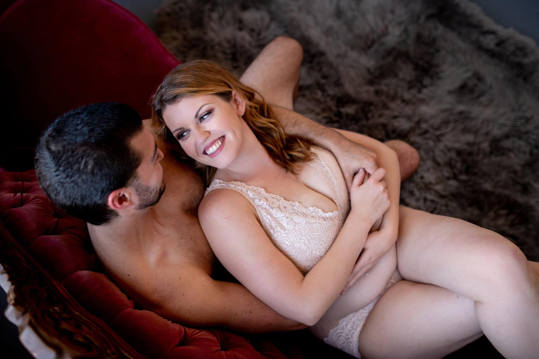 Cute Couples Boudoir Photography Poses