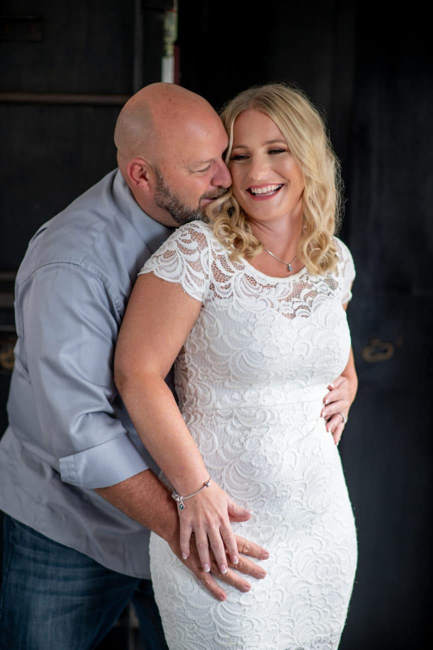 Cute Anniversary Photos by Allebach Photography